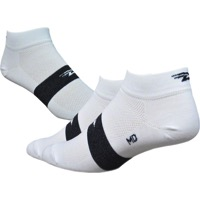 "Defeet Aireator 1"" Team Socks - White/Black Stripe"