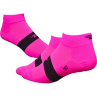 "Defeet Aireator 1"" Team Socks - Pink/Black Stripe"