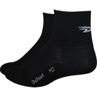 "Defeet Aireator 3"" D-Logo Socks - Black"