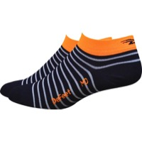 "Defeet Aireator 1"" Sailor Women's Socks - Navy/White/Orange"