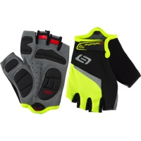 Bellwether Ergo Gel Men's Short Finger Gloves - Hi-Vis