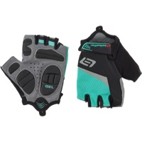 Bellwether Ergo Gel Women's Short Finger Gloves - Aqua