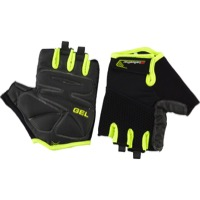 Bellwether Gel Supreme Men's Short Finger Gloves - Hi-Vis