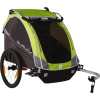 Burley D'Lite Child Trailer - Green