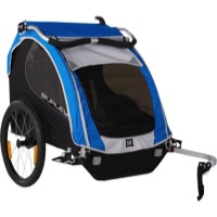 Burley Encore Child Trailer - Blue