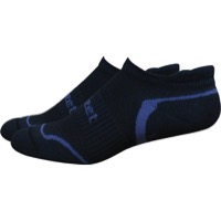 Defeet D-Evo Tabby Socks - Black/Graphite