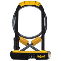 "On Guard Bulldog DT Combination U-Lock with Cable - 4.5"" x 9"""
