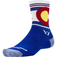 Swiftwick Vision Five Socks - Pride - Colorado