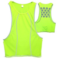 Cycle Aware Reflect+ Women's Vest - Neon Green/Dots