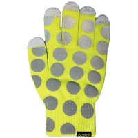 Cycle Aware Reflect+ Gloves - Neon Green/Dots