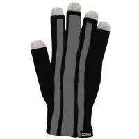 Cycle Aware Reflect+ Gloves - Black/Stripes