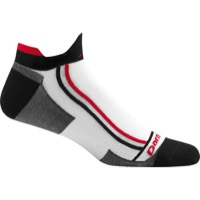 Darn Tough Mini Tab Ultra-Light Socks - Racer White