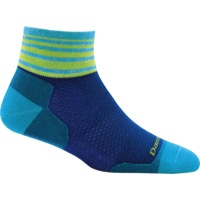 Darn Tough 1/4 Ultra-Light Women's Socks - Stripe Marine