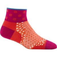 Darn Tough 1/4 Ultra-Light Women's Socks - Dot Coral