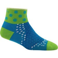 Darn Tough 1/4 Ultra-Light Women's Socks - Dot Teal