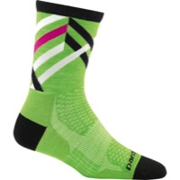 Darn Tough Micro Crew Ultra-Light Women's Socks - Graphic Stripe Green