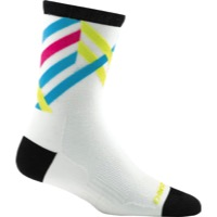 Darn Tough Micro Crew Ultra-Light Women's Socks - Graphic Stripe White