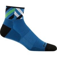 Darn Tough 1/4 Ultra-Light Socks - Graphic Marine