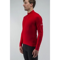 Giro Chrono LS Thermal Jersey 2017 - Bright Red