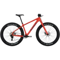 Salsa Beargrease Carbon NX1 Complete Bike 2018 - Orange Red