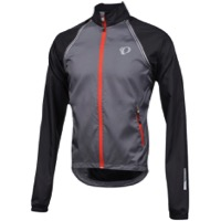 Pearl Izumi Elite Barrier Convertible Jacket 2017 - Smoked Pearl/Black