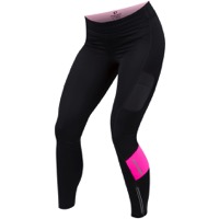 Pearl Izumi Escape Sugar Thermal Tights 2017 - Black/Screaming Pink