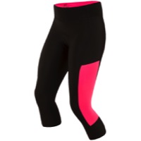 "Pearl Izumi Escape Sugar 3/4"" Cycling Tights 2017 - Black/Screaming Pink"