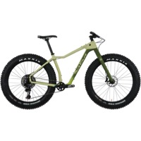 Salsa Mukluk Carbon GX Eagle Complete Bike 2018 - Sand/Green