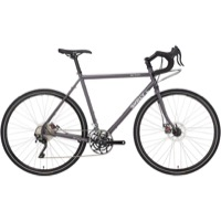 Surly Disc Trucker 700c Complete Bike - Bituminous Gray - 10 Speed