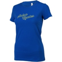 Salsa Outline Logo Women's T-Shirt - Bright Blue