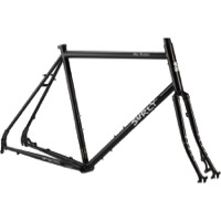 "Surly Disc Trucker 26"" Frameset - Hi-Viz Black"
