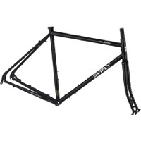 Surly Disc Trucker 700c Frameset - Hi-Viz Black