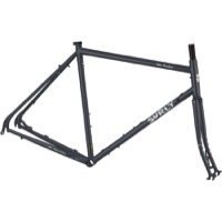Surly Disc Trucker 700c Frameset - Bituminous Gray