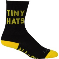 All-City Tiny Hat Society Wool Socks - Black/Yellow