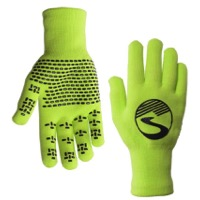 Showers Pass Crosspoint Waterproof Knit Gloves - Neon Green