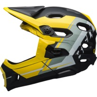 Bell Super DH MIPS Helmet 2018 - Matte Smoke/Yellow/Black Recourse