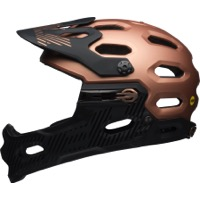 Bell Super 3R MIPS Helmet 2018 - Matte/Gloss Copper/Black