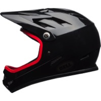 Bell Sanction Helmet 2018 - Gloss Black/Hibiscus