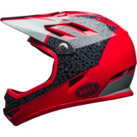 Bell Sanction Helmet 2018 - Gloss Hibiscus/Smoke Reparation