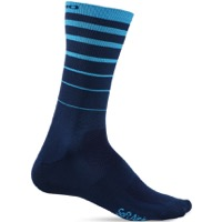 Giro Comp Racer High Rise Socks 2018 - Blue 6 String