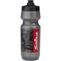 Salsa Big Mouth Water Bottle - Camo Smoke/Black