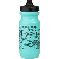Salsa Little Big Mouth Water Bottle - Water Crossing/Turquoise