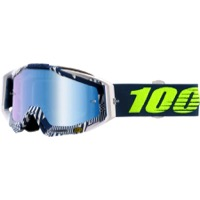 100% RaceCraft Goggles - Eclipse/Mirror Blue Lens