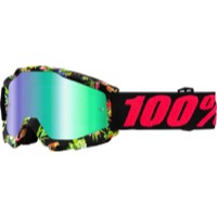 100% Accuri Goggles - Chapter II/Mirror Green Lens