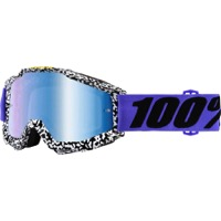 100% Accuri Goggles - Brentwood/Mirror Blue Lens