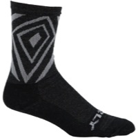 "Surly Vortechia 5"" Wool Socks - Black/Gray"