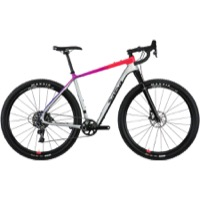 Salsa Cutthroat Carbon Force 1 Complete Bike 2018 - Silver Fade