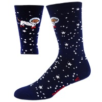 "DeFeet AirEator 5"" Doggo Socks - Navy/White"