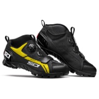Sidi Defender MTB Shoes 2019 - Black/Yellow