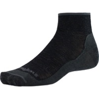 Swiftwick Pursuit Two Ultra Light Socks - Coal Gray